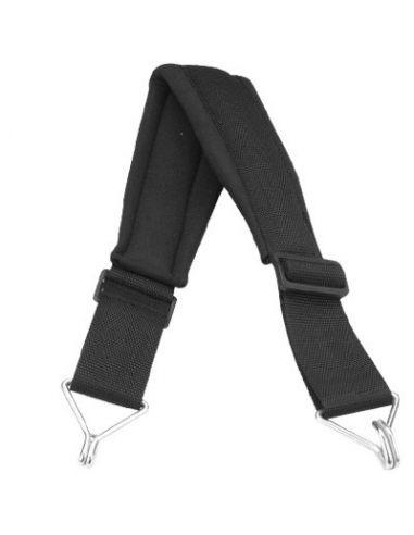 Correa batucada cintura acolchada negra