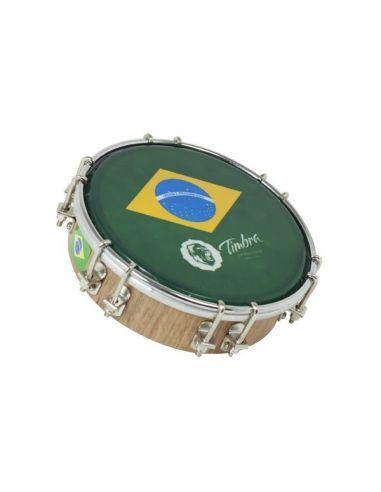 "Tamborim 6"" madera p/brasil timbra ref. Ti8671"