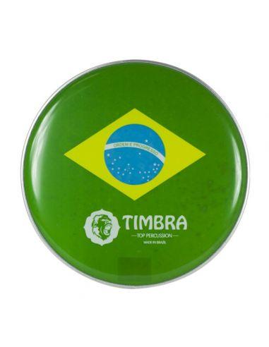"Parche 10"" timbra bandera brasil p3"