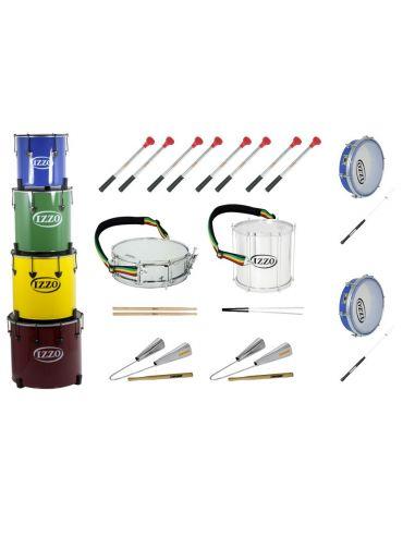 Pack 10 instruments de samba