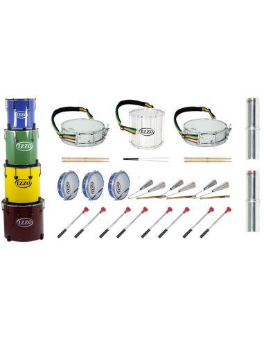 Pack 15 instrumentos samba (eco)