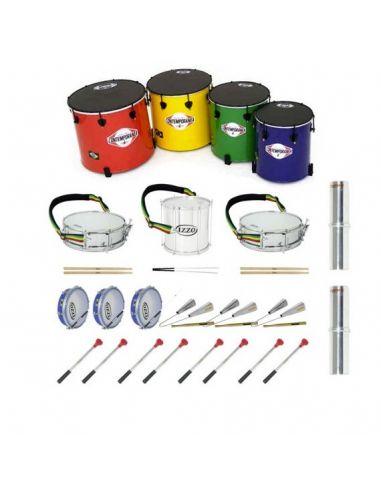 Pack 15 instrumentos samba (eco2)