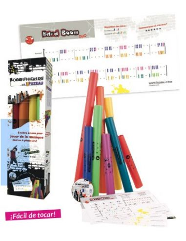 Pack boomwhackers (8 tubos + 15...