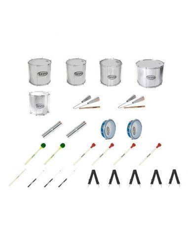 Pack 11 instrumentos IZZO batucada