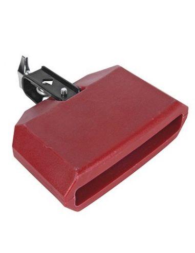 Temple block plastico rojo ref.04341 15x10x5
