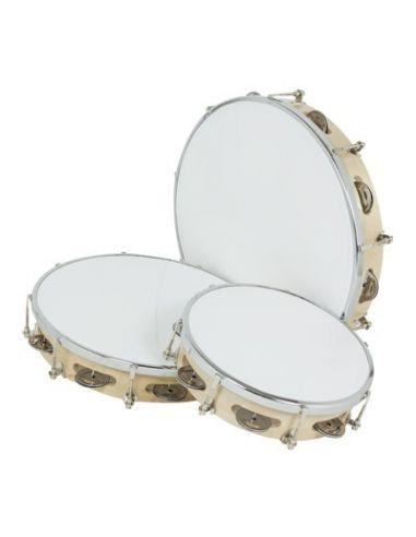 Tambourin accordable 25cm p / plastique ref.01612