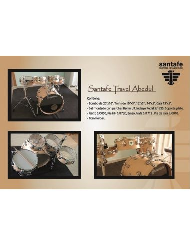 Set travel custom birch ref.sn0030