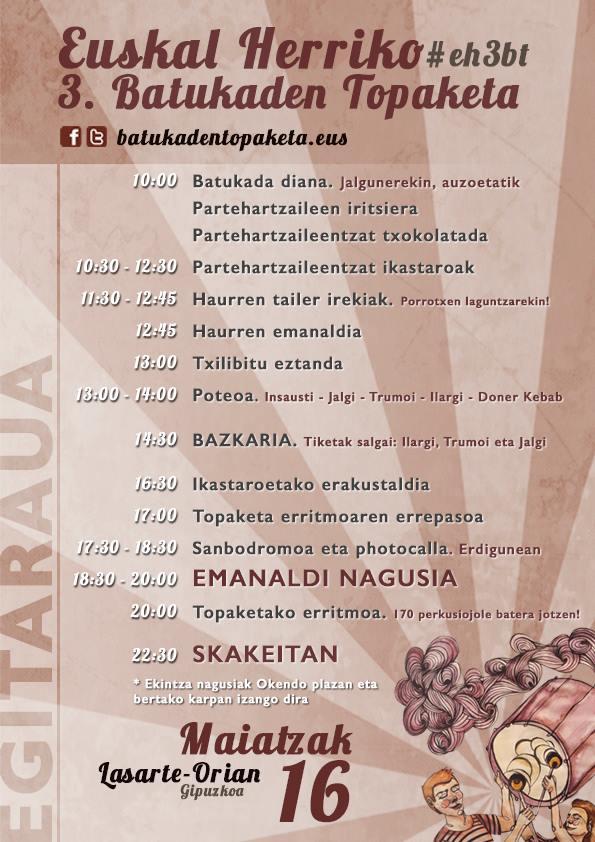 Programación Euskal Herriko 3