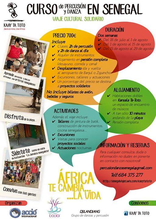 viaje cultural solidario a senegal