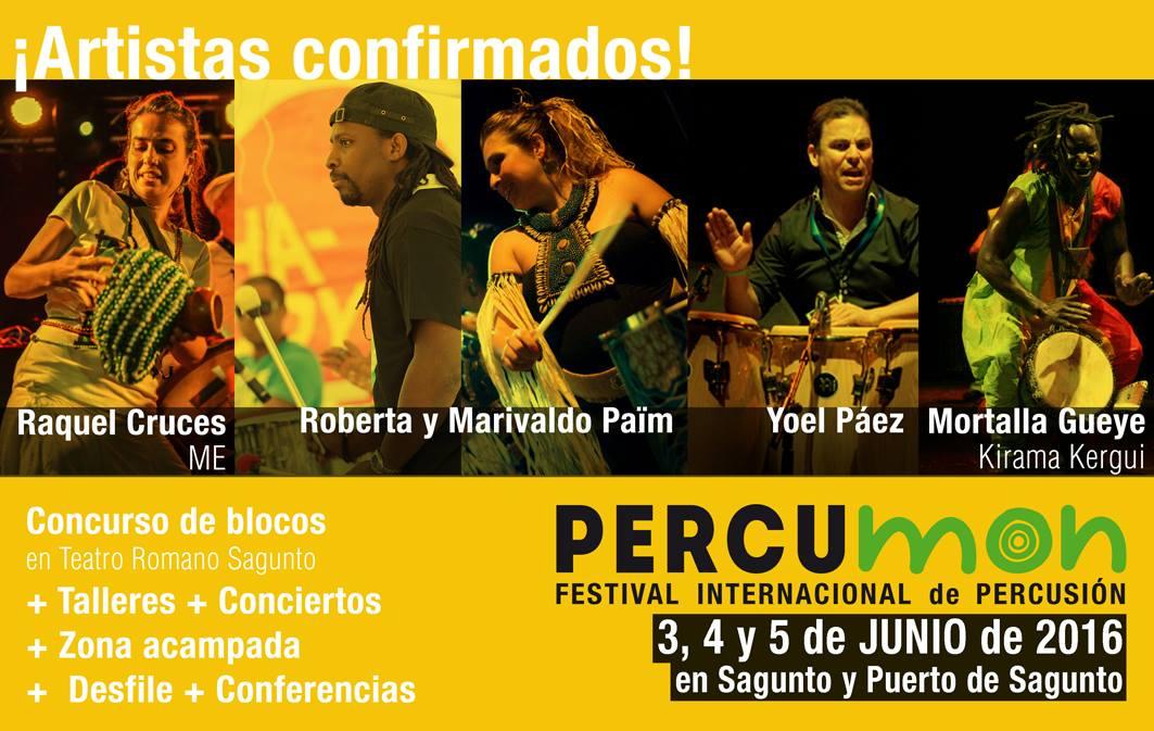 percumon festival percusión