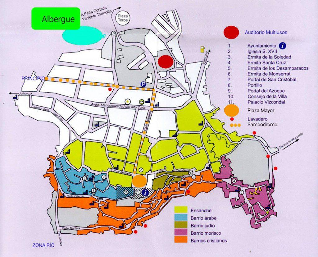 mapa batuchelva