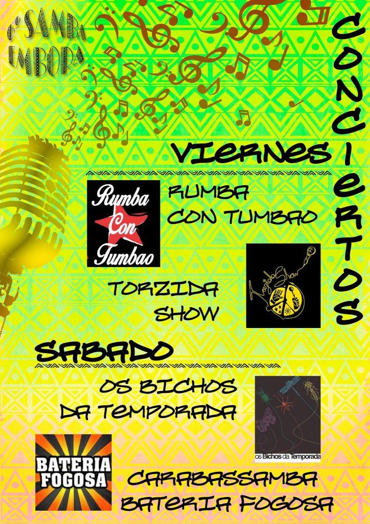 conciertos del samba embora 2016