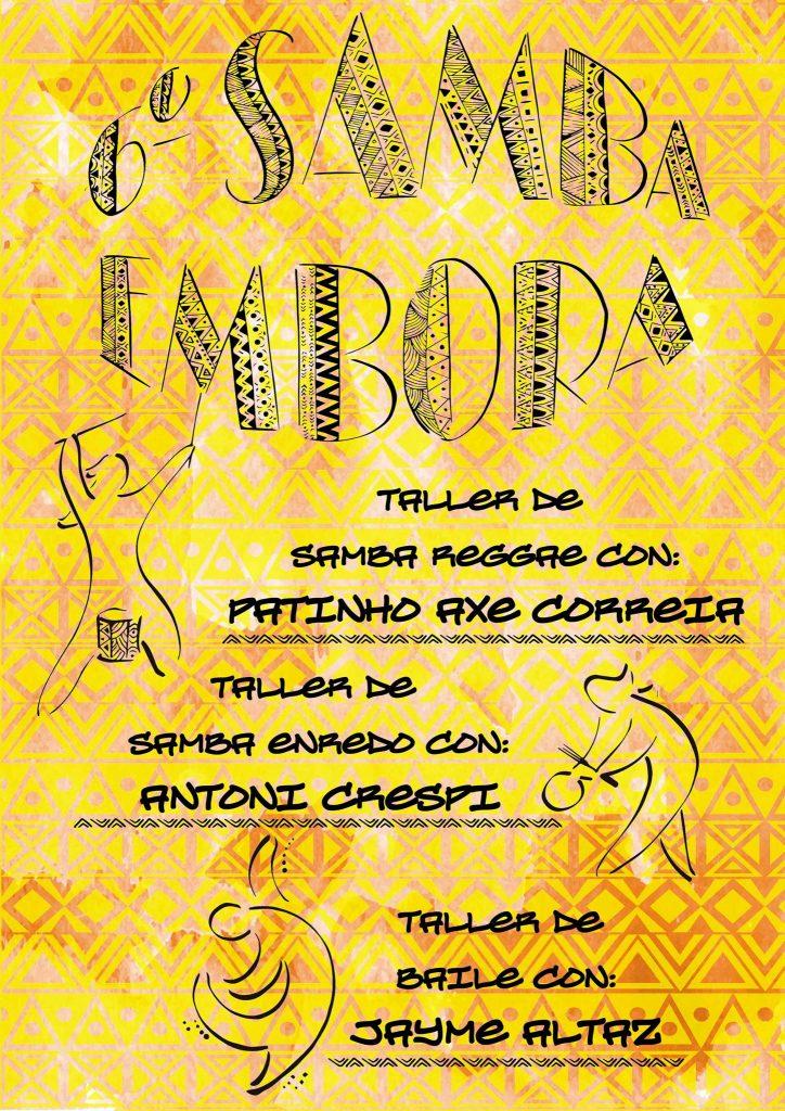 talleres samba embora 2016