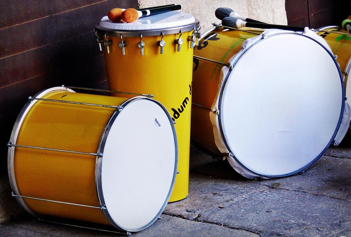 Instrumentos de percusión brasileña