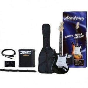 Pack guitarra eléctrica con amplificador