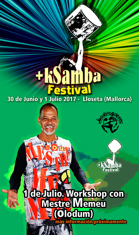 festival +ksamba con mestre memeu