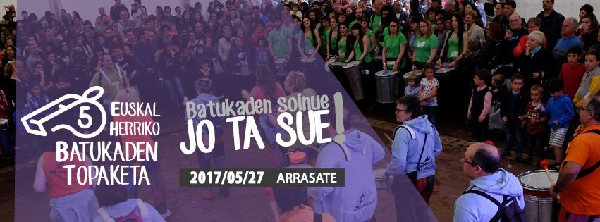 Encuentro batucadas País Vasco