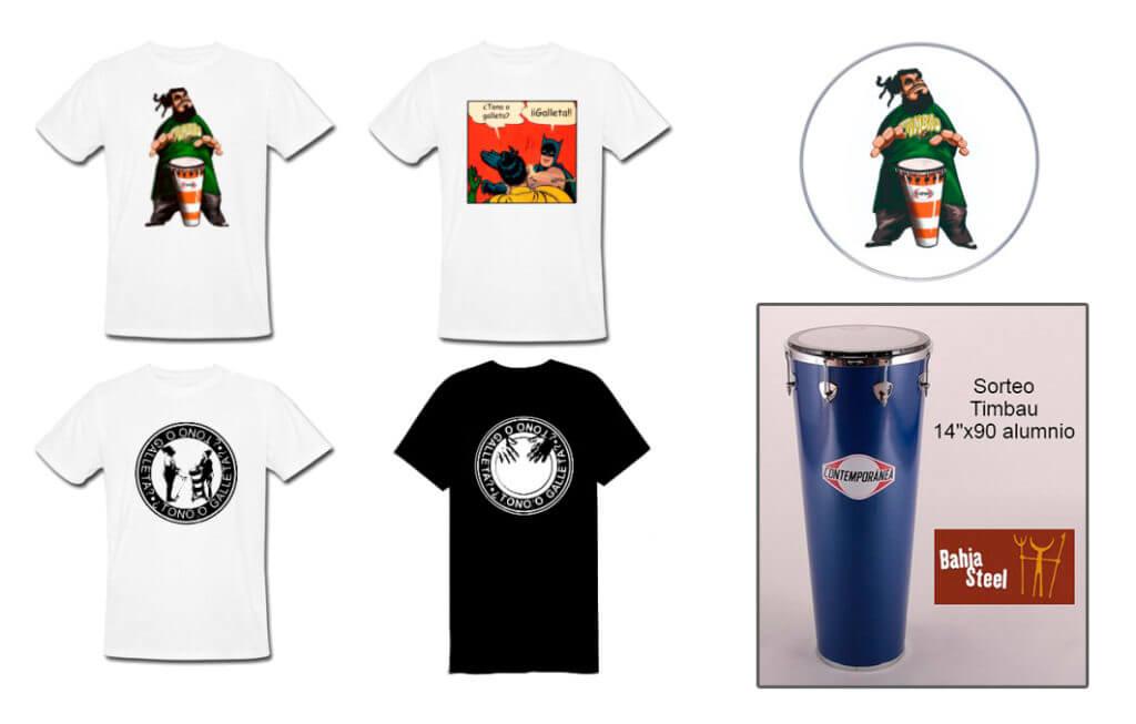 Camisetas con diseños divertidos de Timbau