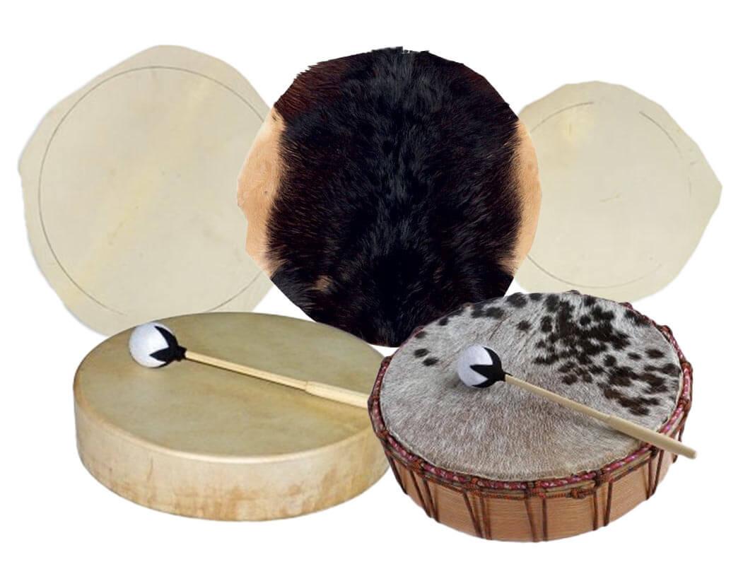 Pieles para tambor chamánico