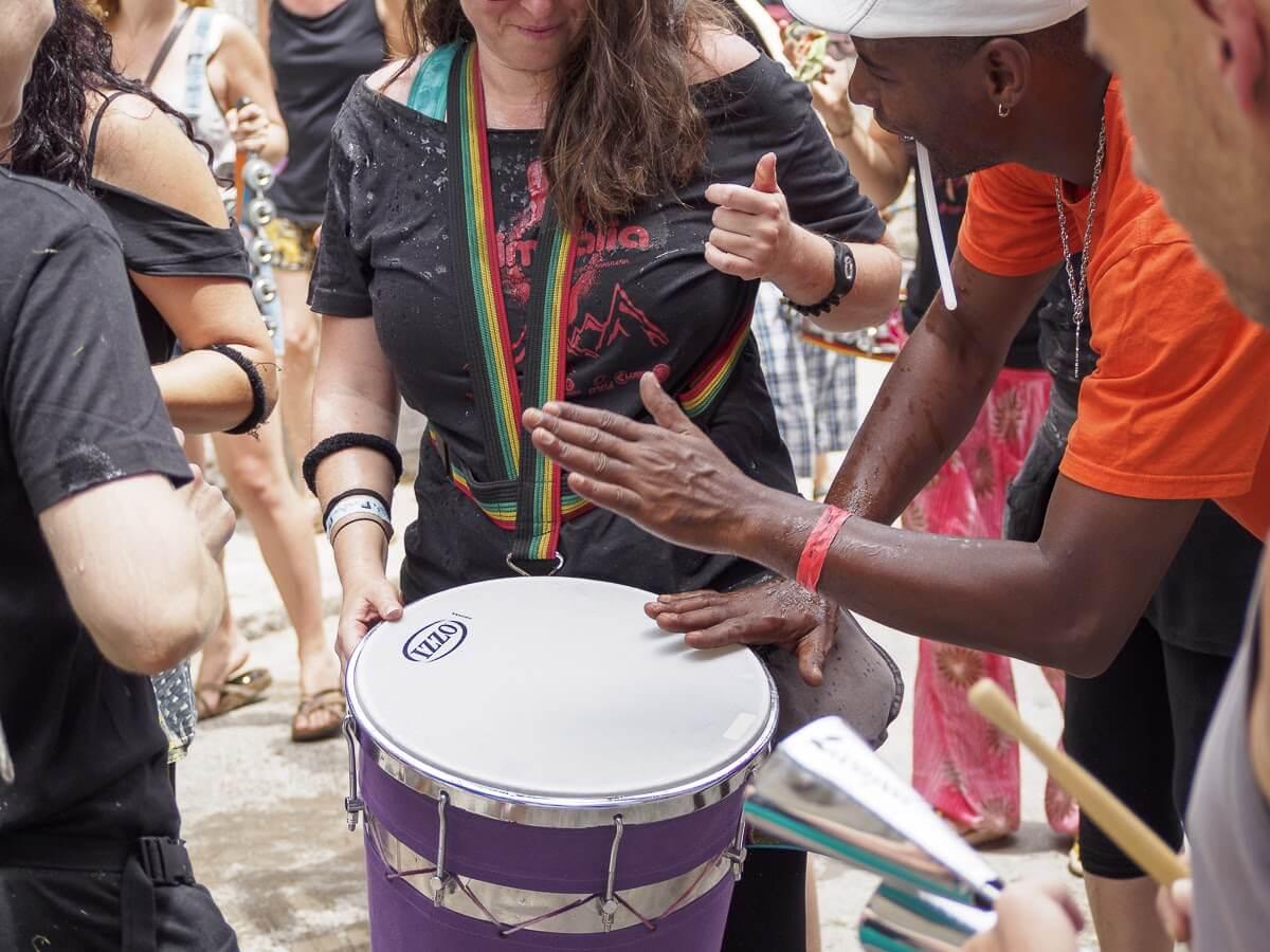 Timbau en el festival Timbalia