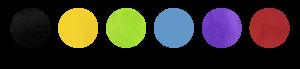 Colores bola de maza surdo